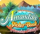 Amanda's Sticker Book: Amazing Wildlife game