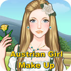 Austrian Girl Make-Up game