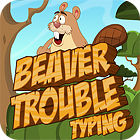 Beaver Trouble Typing game