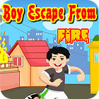 Boy Escape From Fire game