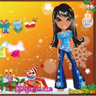 Bratz's Fashion Christmas game