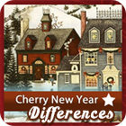 Cherry New Year 5 Differences game