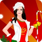 Christmas Gateway Dress Up game