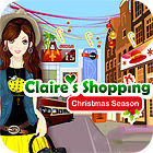 Claire's Christmas Shopping game