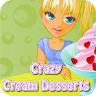 Crazy Cream Desserts game