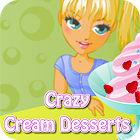Crazy Cream Desserts game