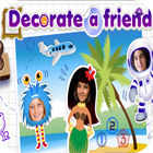 Decorate A Friend game