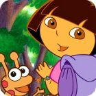Dora the Explorer: Online Coloring Page game