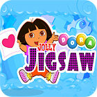 Dora the Explorer: Jolly Jigsaw game