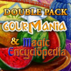 Double Pack Gourmania and Magic Encyclopedia game