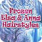 Frozen. Elsa and Anna Hairstyles game