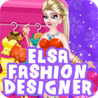 Elsa Fashion Designer game