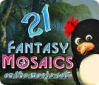 Fantasy Mosaics 21: On the Movie Set game