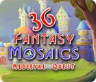 Fantasy Mosaics 36: Medieval Quest game