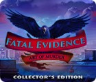Fatal Evidence: Art of Murder Collector's Edition game