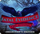 Fatal Evidence: The Missing Collector's Edition game
