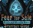 Fear For Sale: Mystery of McInroy Manor Strategy Guide game