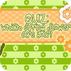 Flower Quiz game
