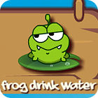Frog Drink Water game