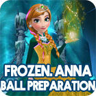 Frozen. Anna Dress Up game