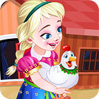 Frozen. Anna Poultry Care game