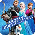 Frozen. Hidden Letters game