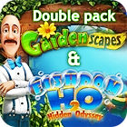 Gardenscapes & Fishdom H20 Double Pack game