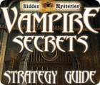 Hidden Mysteries: Vampire Secrets Strategy Guide game