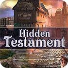 Hidden Testament game