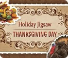 Holiday Jigsaw Thanksgiving Day game