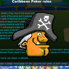 Island Caribbean Poker game