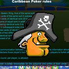 Island Caribbean Poker game