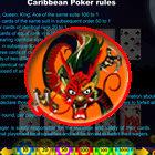 Japanese Caribbean Poker game