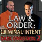 Law & Order Criminal Intent 2 - Dark Obsession game