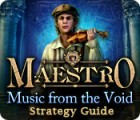 Maestro: Music from the Void Strategy Guide game