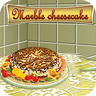 Marble Cheesecake Cooking game