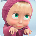 Masha and the Bear Memory Game game