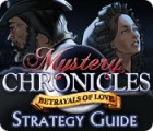 Mystery Chronicles: Betrayals of Love Strategy Guide game