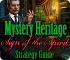Mystery Heritage: Sign of the Spirit Strategy Guide game