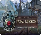 Mystery Trackers: Fatal Lesson Collector's Edition game