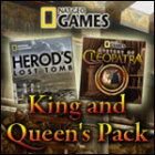 Nat Geo Games King and Queen's Pack game