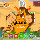 Prehistoric Blackjack game