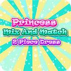 Princess Mix and Match 2 Piece Dress game