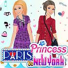 Princess: Paris vs. New York game