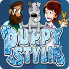 Puppy Stylin` game