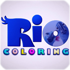 RIO Movie Coloring game