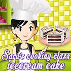 Sara's Cooking Class: Ice Cream Cake game
