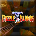 Snowy Puzzle Islands game
