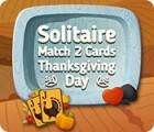 Solitaire Match 2 Cards Thanksgiving Day game