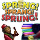 Spring, Sprang, Sprung game